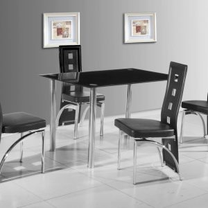 Bilston Dining Table + 4 Chairs