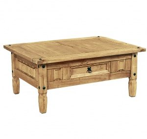 Corona Coffee Table 1 Drawer