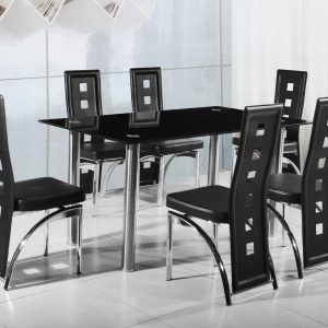 Victory Dining Table + 6 Chairs