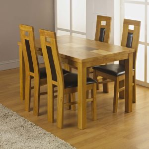Bailey Dining + 4 Eliza Chairs