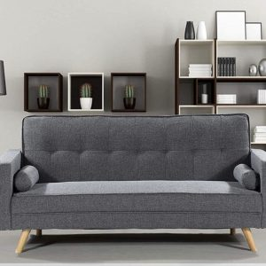 Milano 3 Seater Fabric Sofa Bed