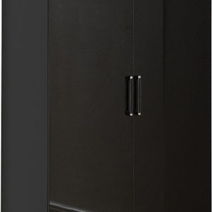 Charisma 2 Door Wardrobe in Black Gloss