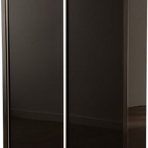 Charisma Sliding Wardrobe Black Gloss