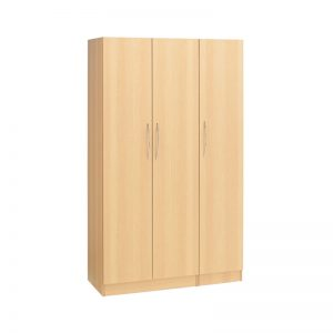 Budget 3 Door Wardrobe (Plain)