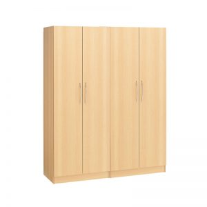 Budget 4 Door Wardrobe (Plain)