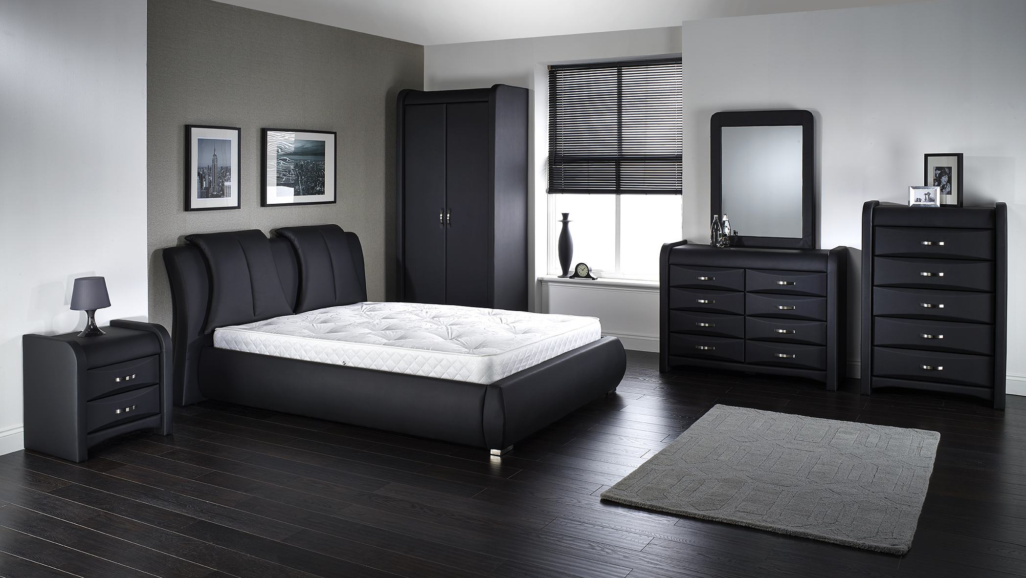 Azure Bedroom Range (Faux Leather IFC)