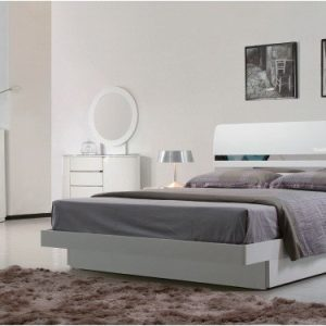 Grace Storage Bedroom Set (High Gloss)