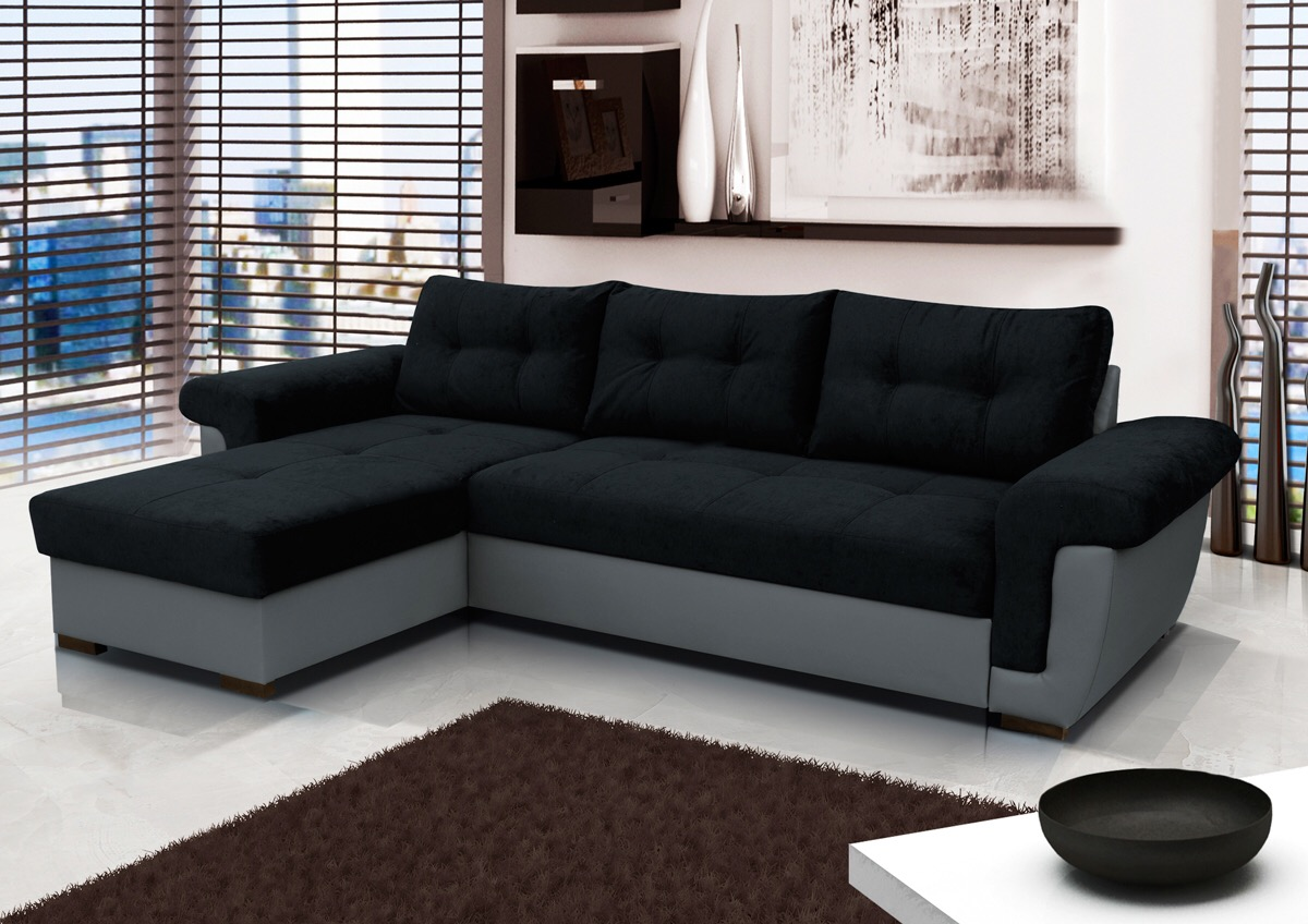 Amber Corner Sofa Bed/Storage