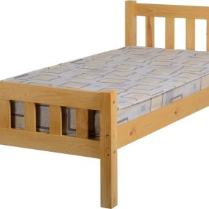 Carlow 3' Bed in Antique Pine