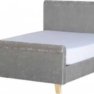 """Shelby 4'6"""" Sleigh Bed High Foot End"""