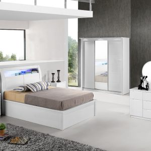 Rugby Bedroom Set (High Gloss)