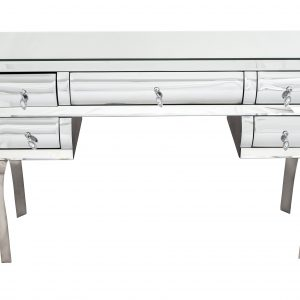 Curved Mirrored Dressing Table (Discontinued)