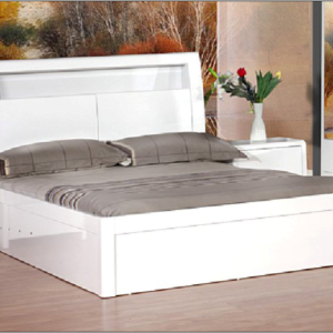 Madrid Ottoman/Storage Bed Frame (High Gloss)