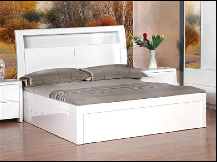 Marvelous Madrid Ottoman Storage Bed Frame High Gloss Ocoug Best Dining Table And Chair Ideas Images Ocougorg