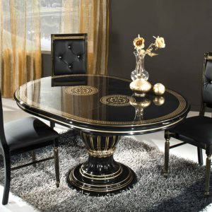 Rosella Versace Style Dining Table Set