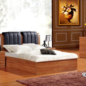 Walnut Double Storage Bed