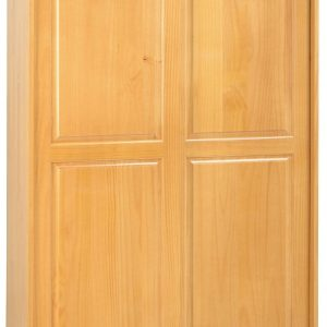 Sol 2 Door Sliding Wardrobe in Antique Pine