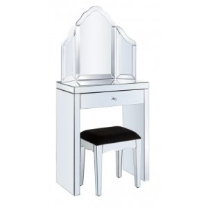 Dressing Table Set (Clear Mirror)