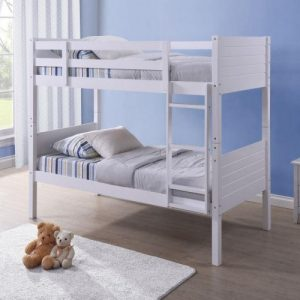 Bedford Bunk Bed in White
