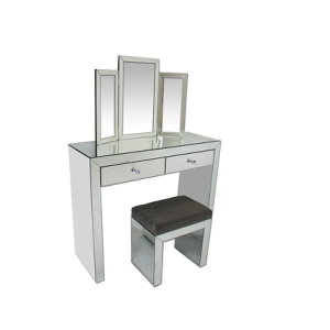 Simply Mirror Dressing Table Set