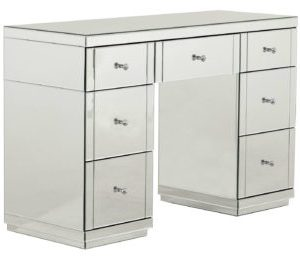 Clear Mirror Dressing Table 7 Drawer (MF7007)
